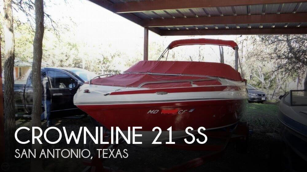 2012 Crownline 21 SS