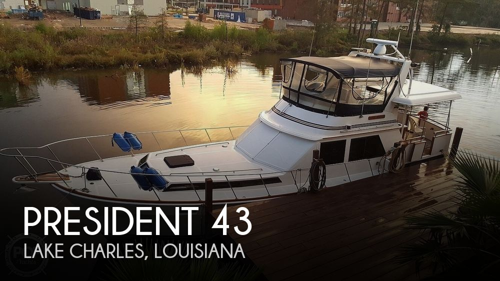 1985 President 43 Double Cabin Aft Motor Yacht