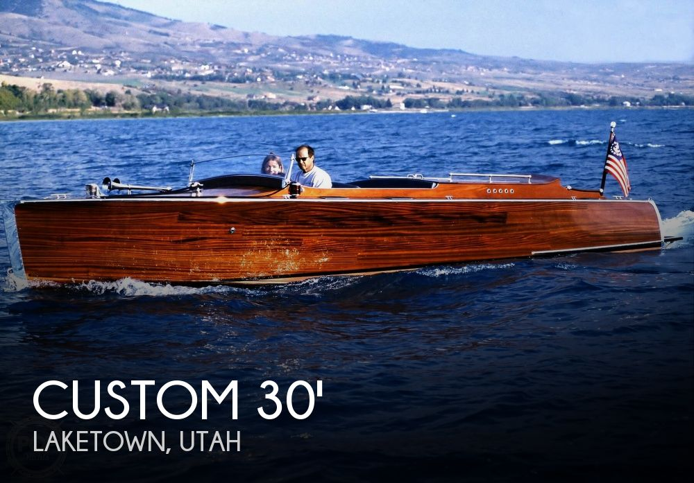2007 Custom 1929 Triple Up Chris-Craft Replica