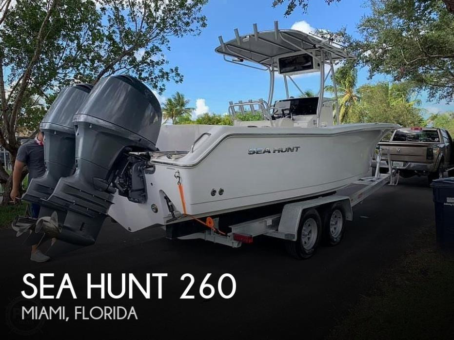 2006 Sea Hunt 260