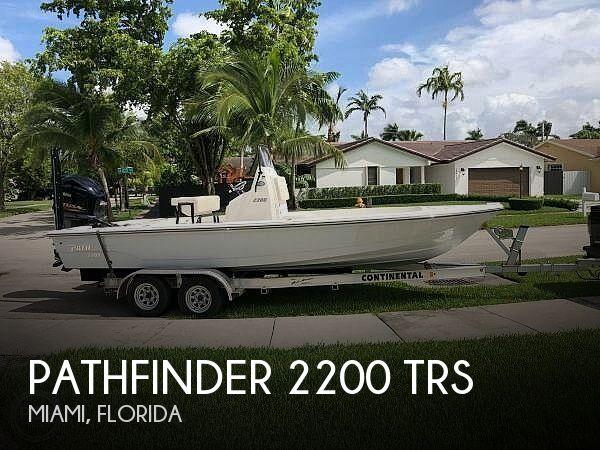 2019 Pathfinder 2200 trs