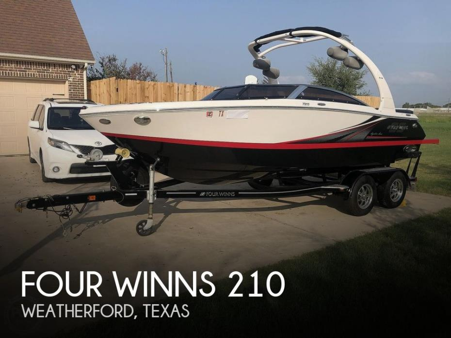 2016 Four Winns H210 Signature Series