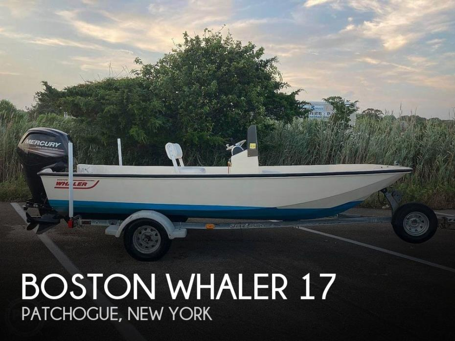 1984 Boston Whaler 17 Montauk
