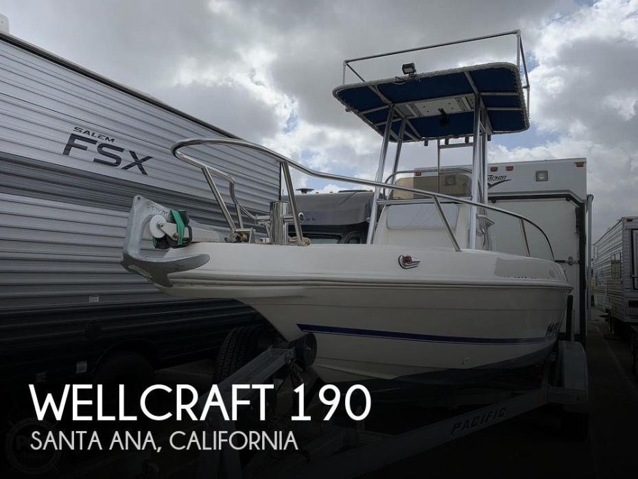 1996 Wellcraft 190