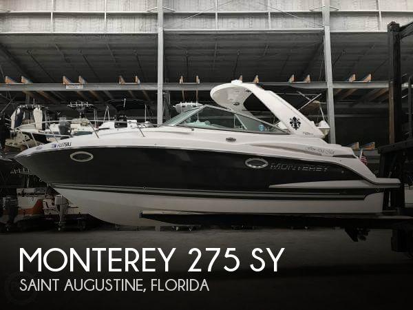 2017 Monterey 275 SY