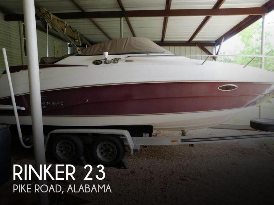 2007 Rinker Atlantic 230