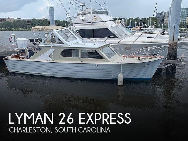 1968 Lyman 26 Express