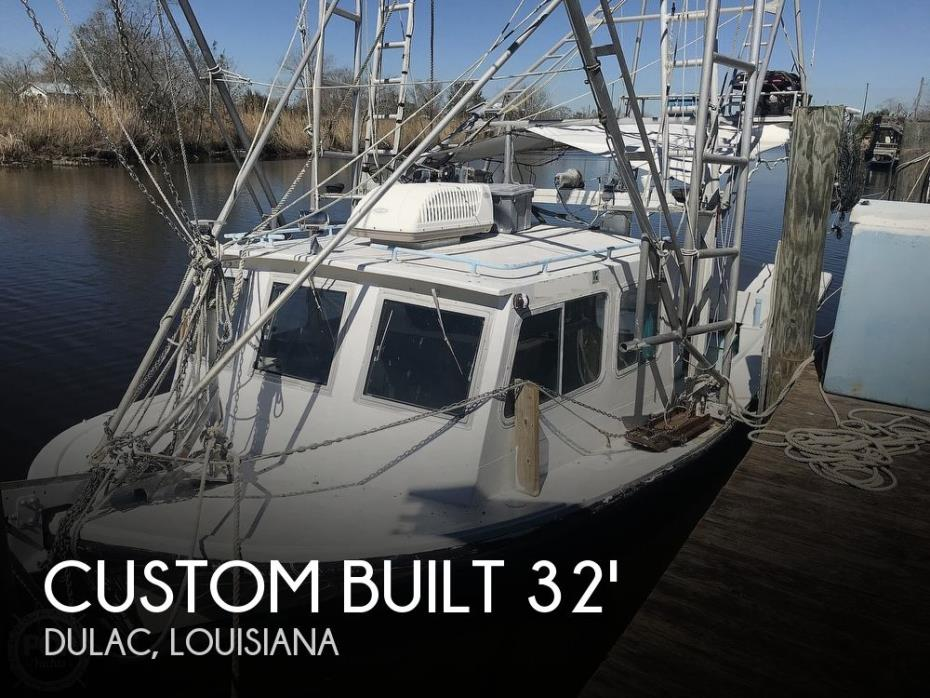 1987 Custom Built Lafitte Skiff