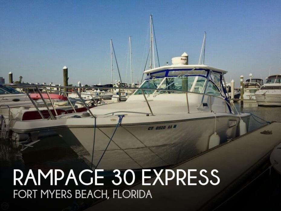 2001 Rampage 30 Express