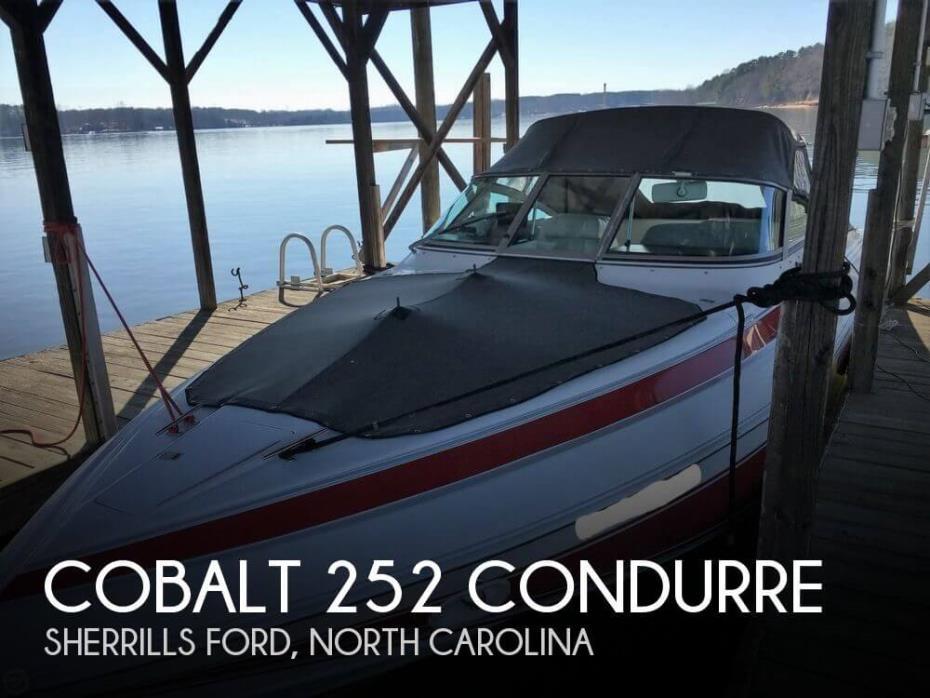 1990 Cobalt 252 Condurre