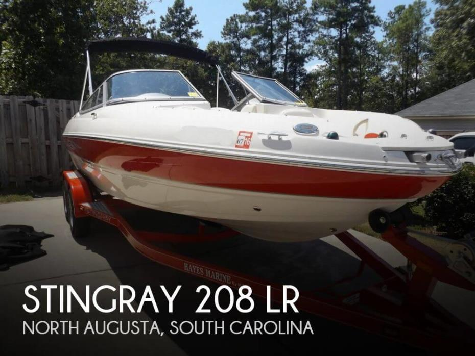 2013 Stingray 208 LR