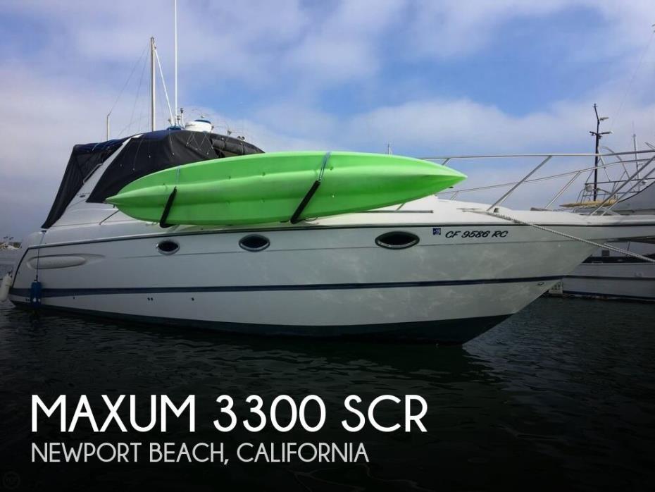 2004 Maxum 3300 SCR