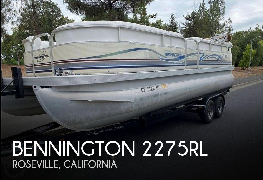 2001 Bennington 2275RL