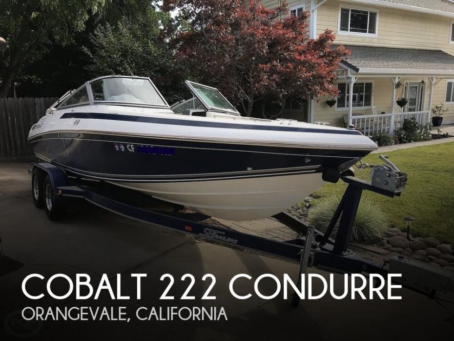 1993 Cobalt 222 Condurre