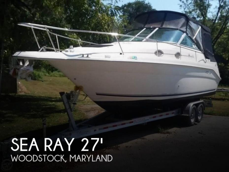 1999 Sea Ray 270 Sundancer Special Edition
