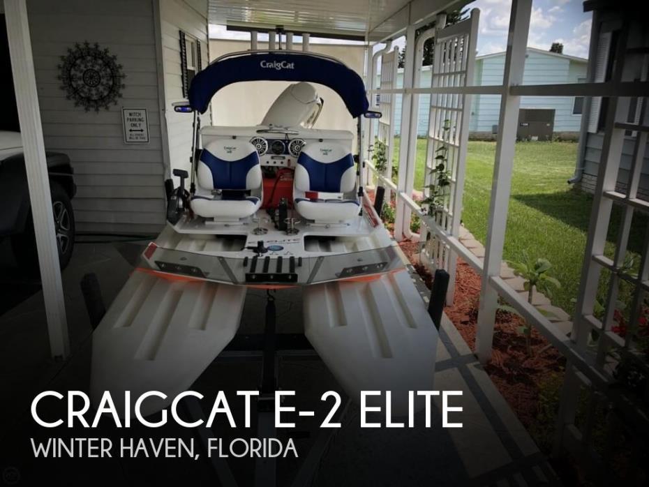2017 CraigCat e-2 elite