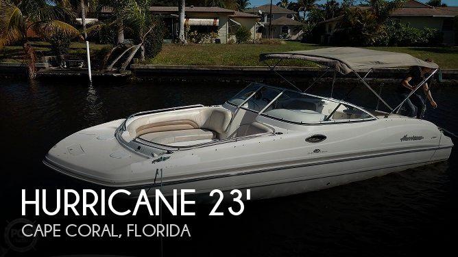 2006 Hurricane 237 Sundeck