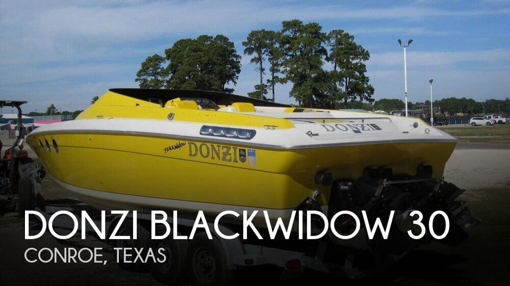 1990 Donzi Blackwidow 30