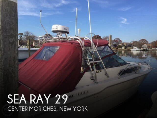 1985 Sea Ray 300 WE