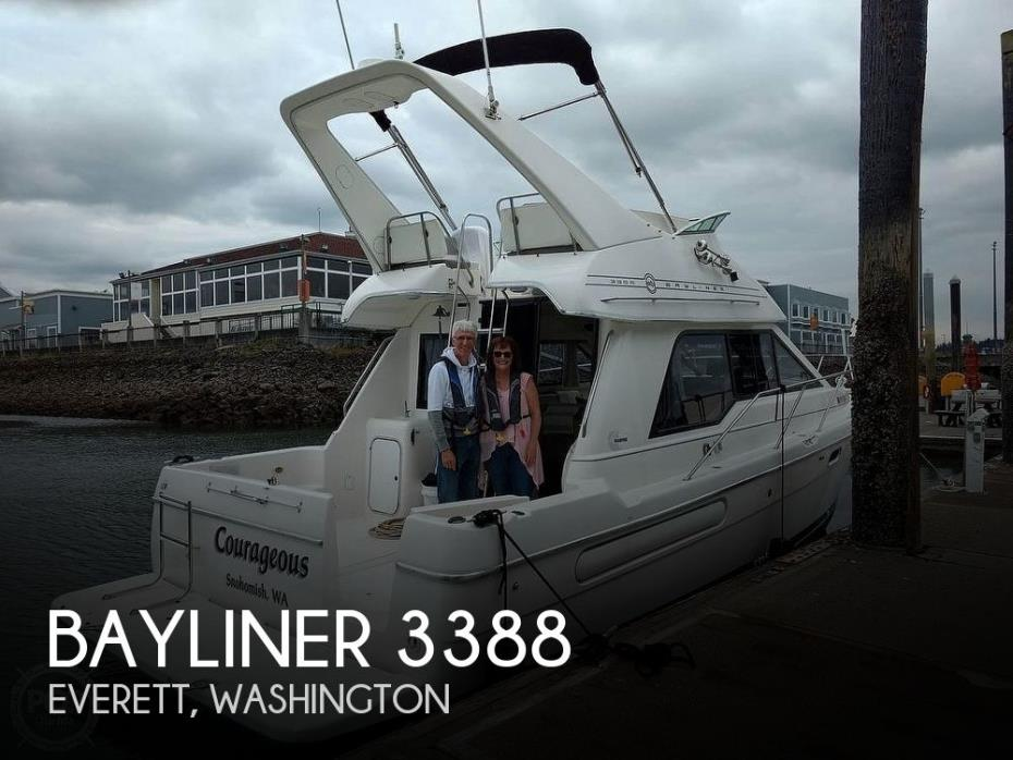 1996 Bayliner 3388 Motoryacht