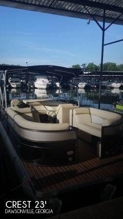 Crest Pontoon Boats 25 Boats For Sale