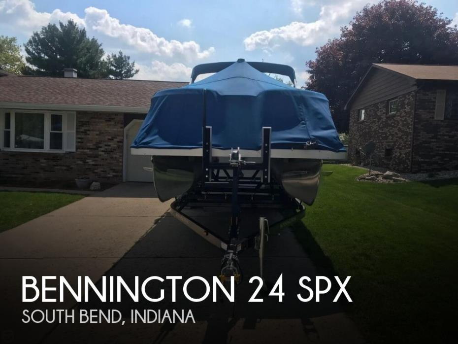 2015 Bennington 24 SPX