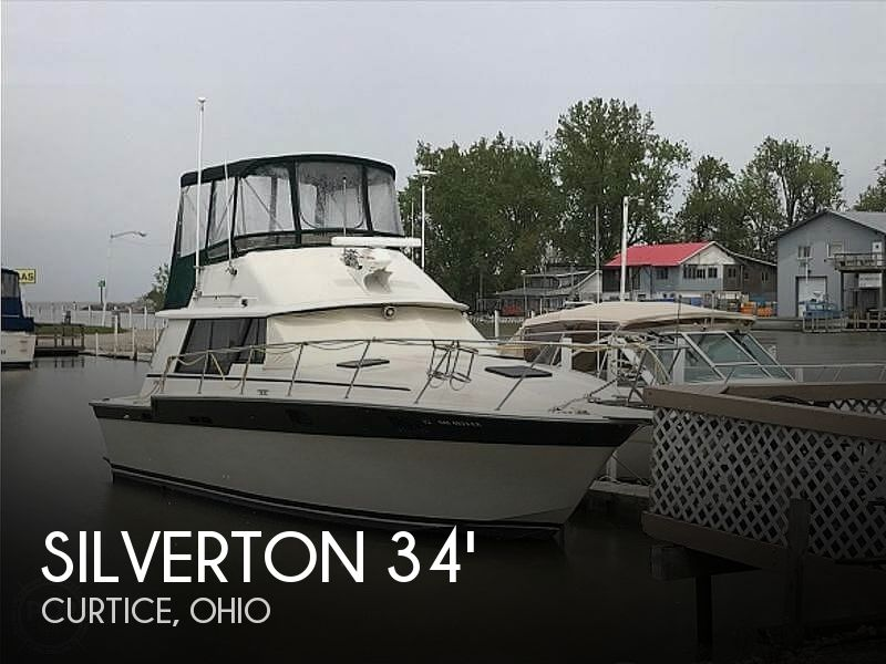 1984 Silverton 34 Convertible