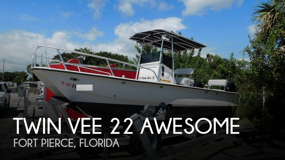 1998 Twin Vee 22 Awesome