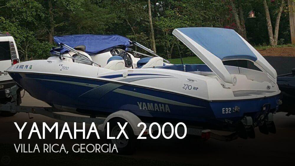 2002 Yamaha LX 2000