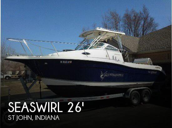 2005 Seaswirl Striper 2601 WA
