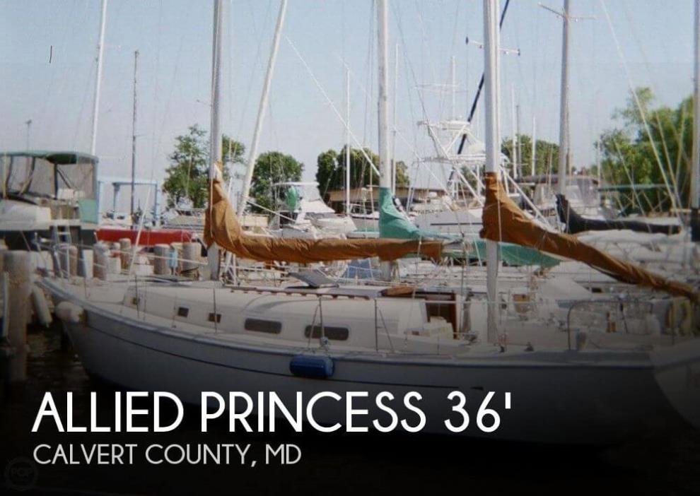 1977 Allied Princess 36 Ketch