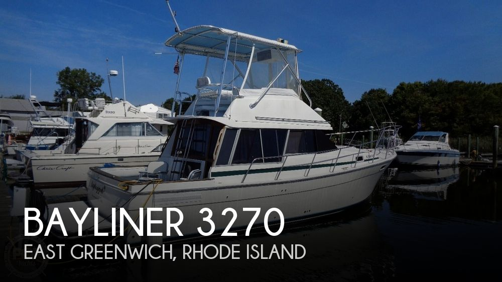 1987 Bayliner 3270 Motor Yacht