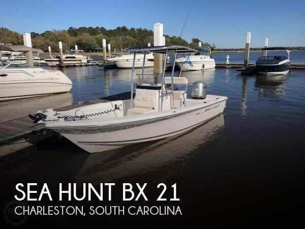 2007 Sea Hunt BX 21