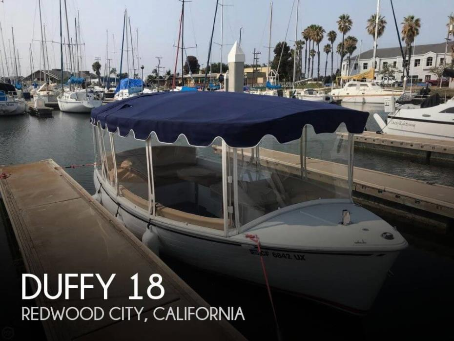 2015 Duffy 18 Snug Harbor