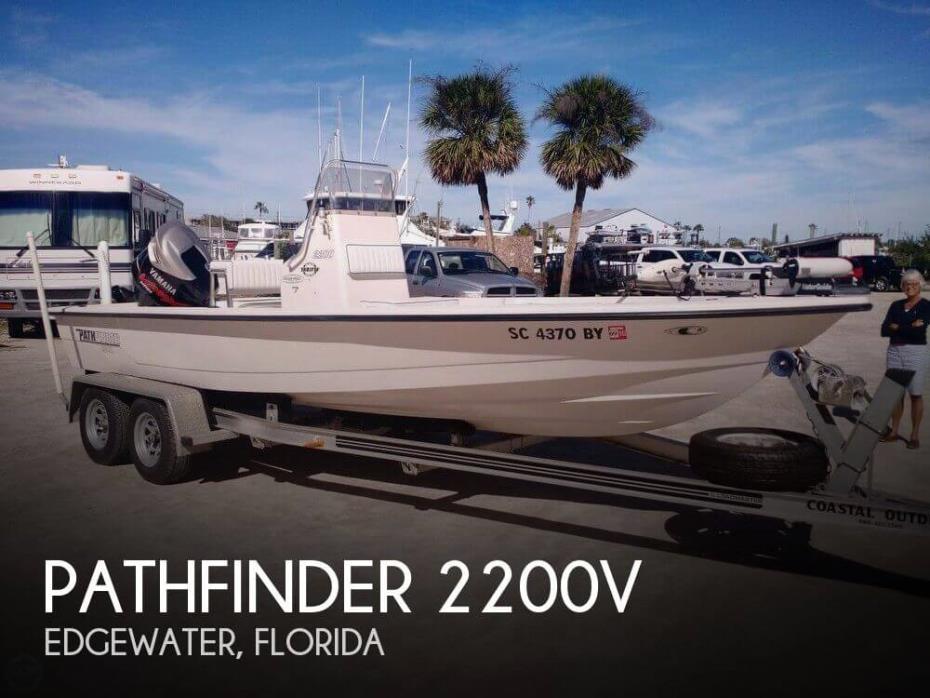 2004 Pathfinder 2200V