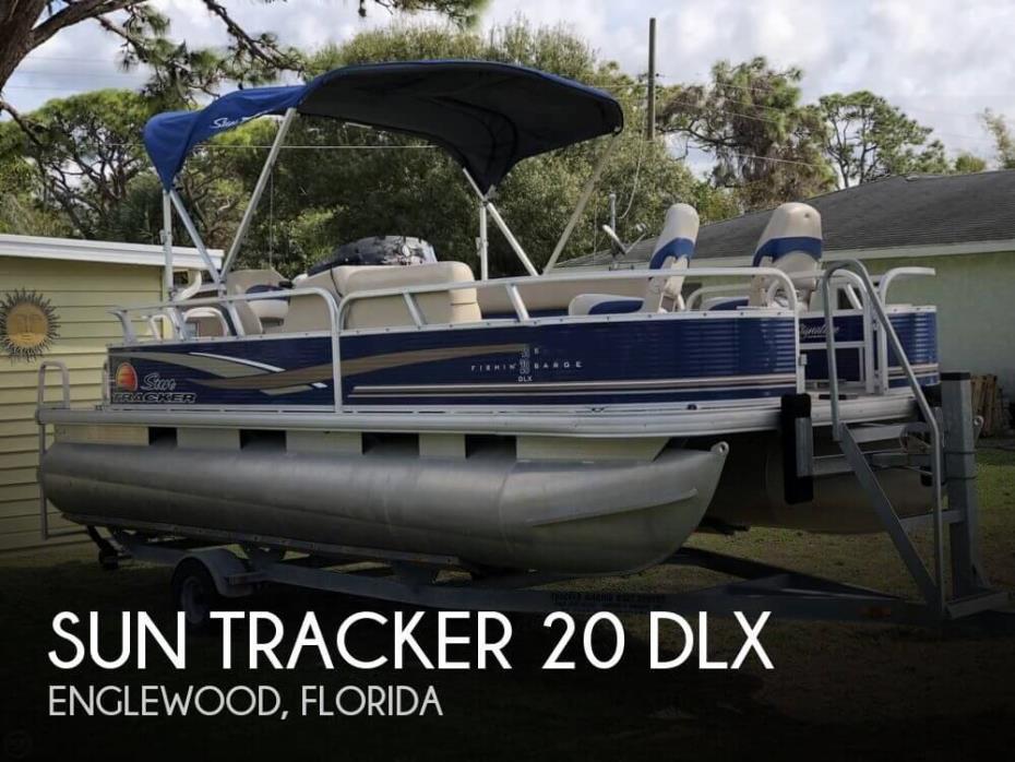 2013 Sun Tracker 20 DLX
