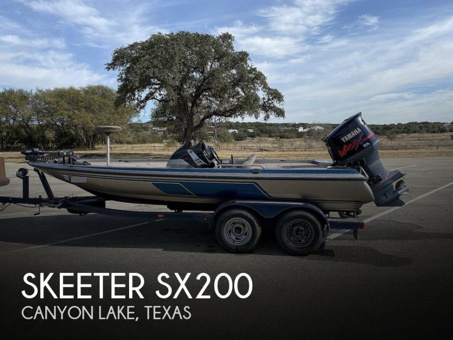 2004 Skeeter SX200