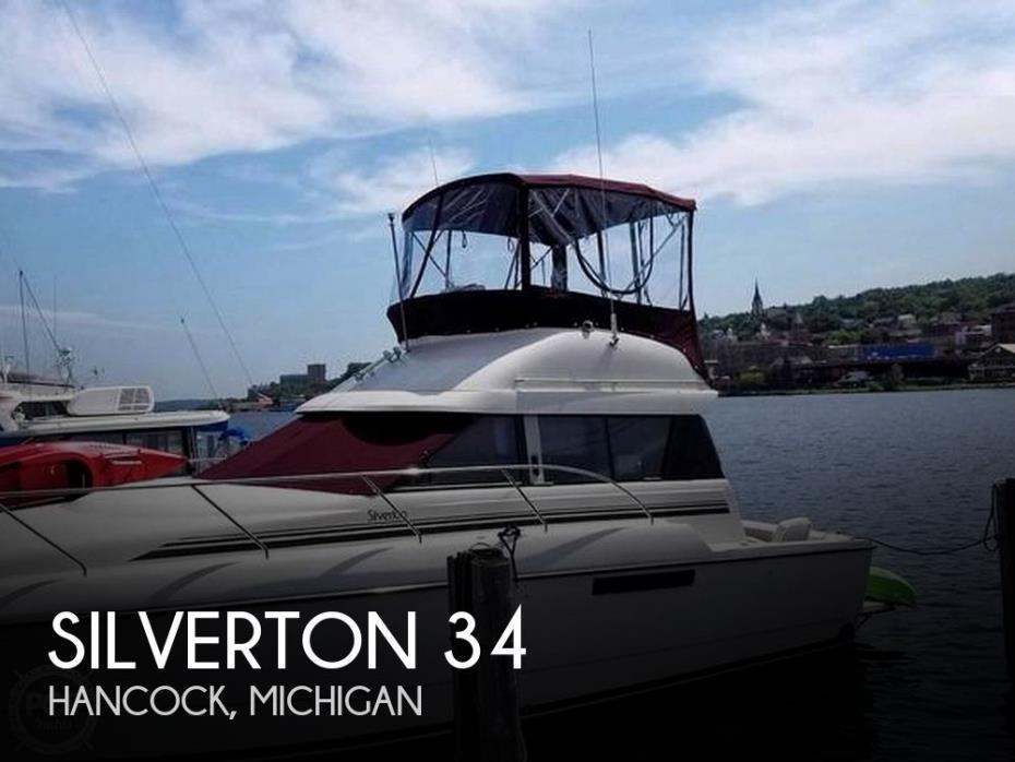 1992 Silverton 34 Convertible