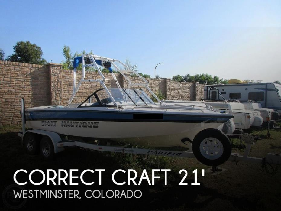 1995 Correct Craft Sport Nautique