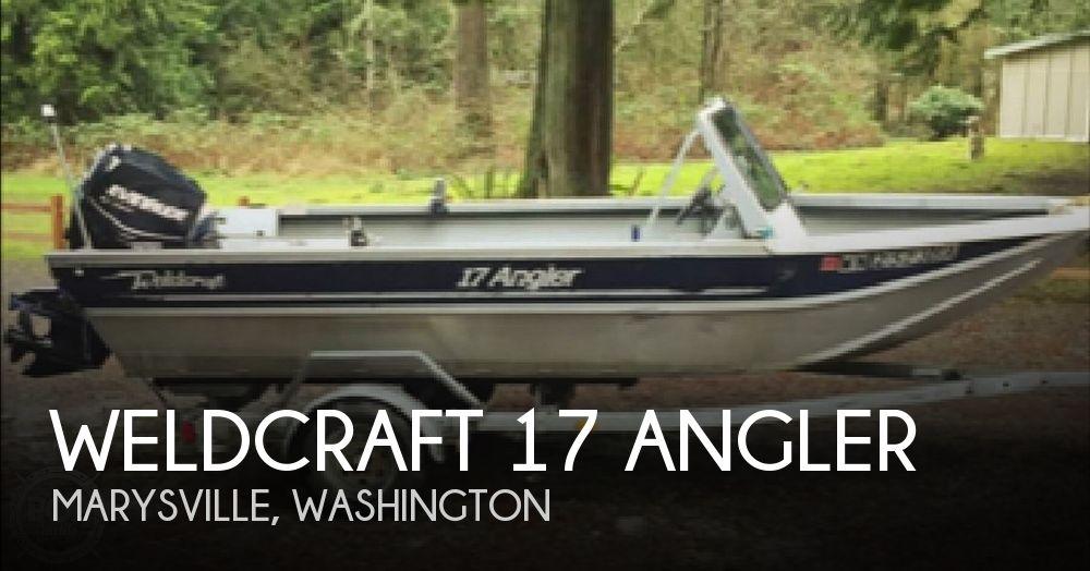 1999 Weldcraft 17 Angler