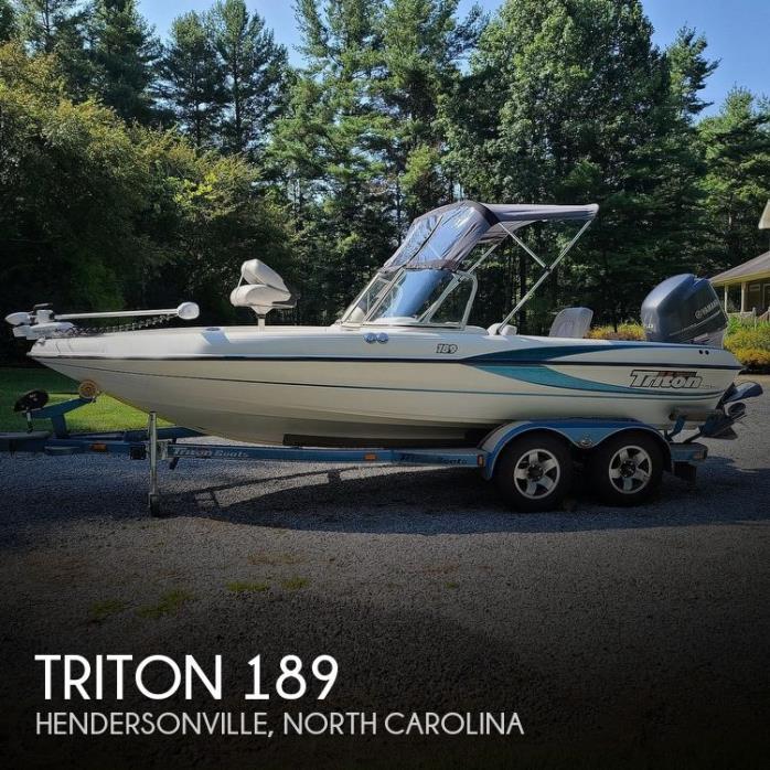 2001 Triton TX 189 DCF Walleye