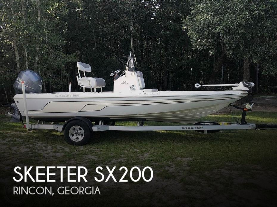 2014 Skeeter SX200