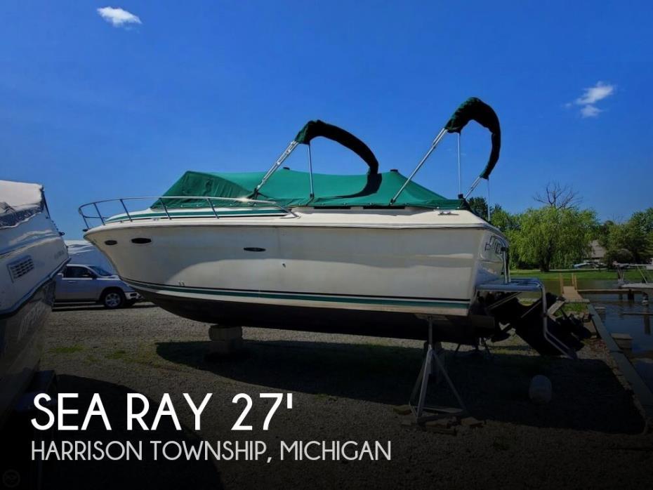 1981 Sea Ray 255 Amberjack