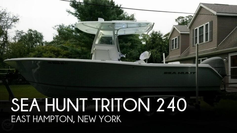 2013 Sea Hunt Triton 240