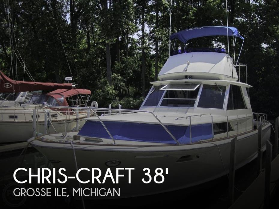 1966 Chris-Craft 38 Commander