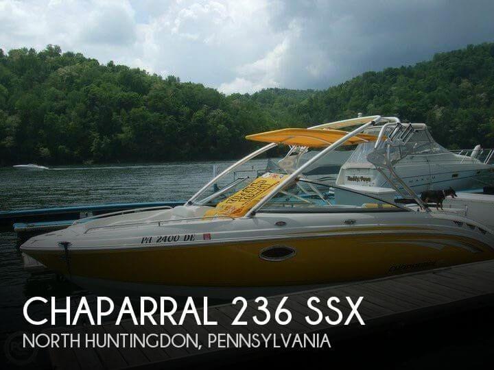 2008 Chaparral 236 SSX