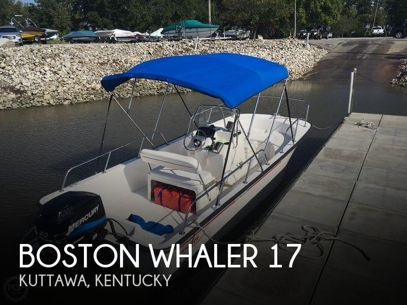 2004 Boston Whaler 170 Montauk