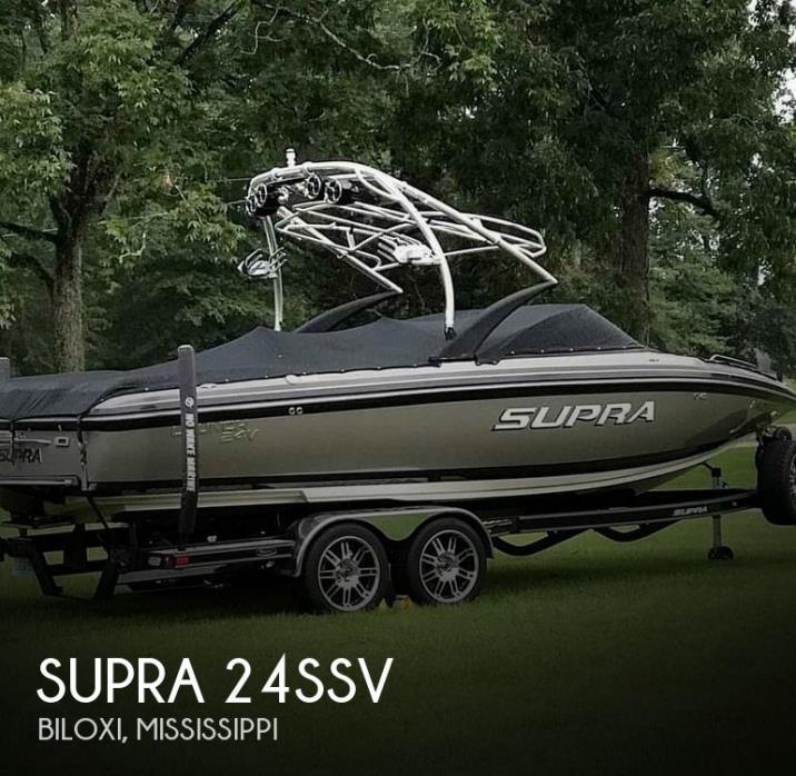 2010 Supra 24SSV