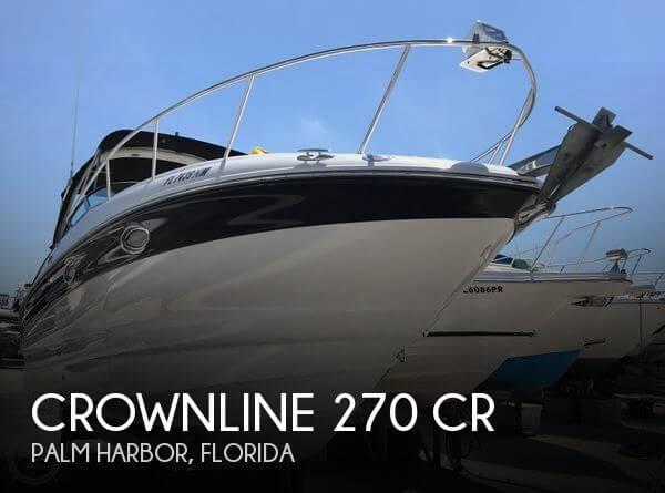 2006 Crownline 270 CR