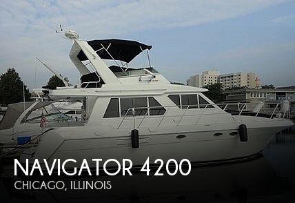 2006 Navigator 4200 Pilot House